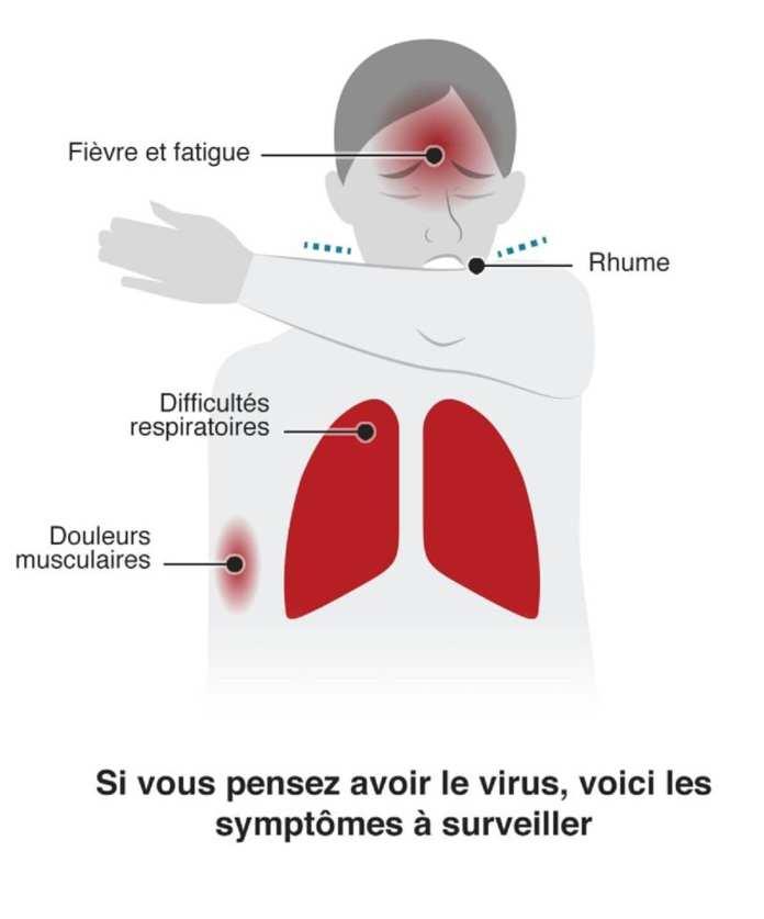 Coronavirus + comment se protéger