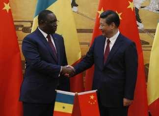 Xi+Jinping+Senegal+President+Macky+Sall+Visits
