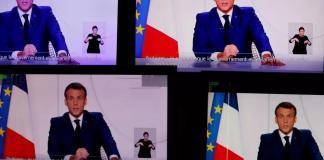 France Emmanuel Macron annonce un allègement du confinement en trois étapes