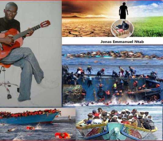 Jonas Emmanuel Ntab sur immigration clandestine-Capture