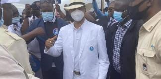 RDC Moïse Katumbi de retour à Kinshasa