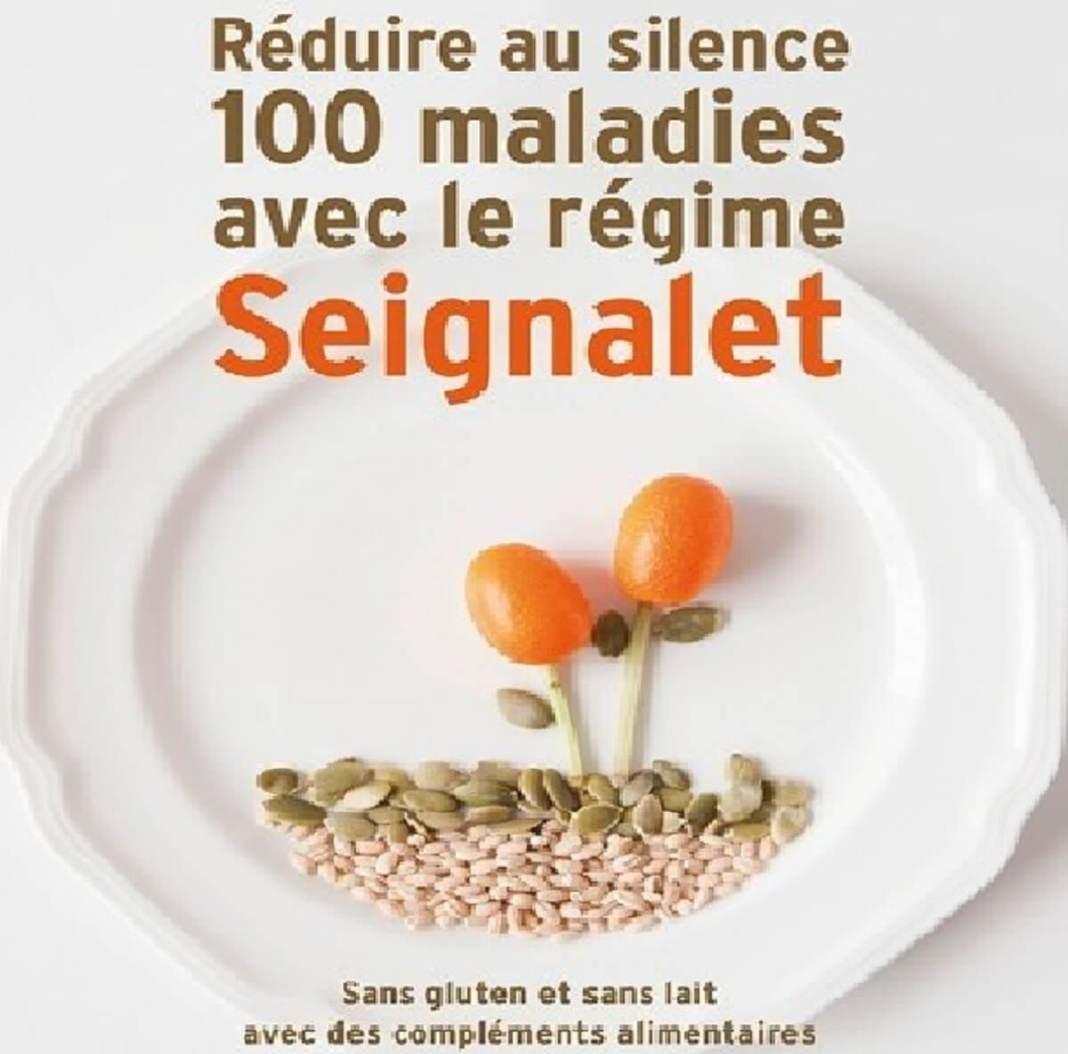 Région au silence 100 maladies avec le régime Seignalet de Jean-marie Magnien