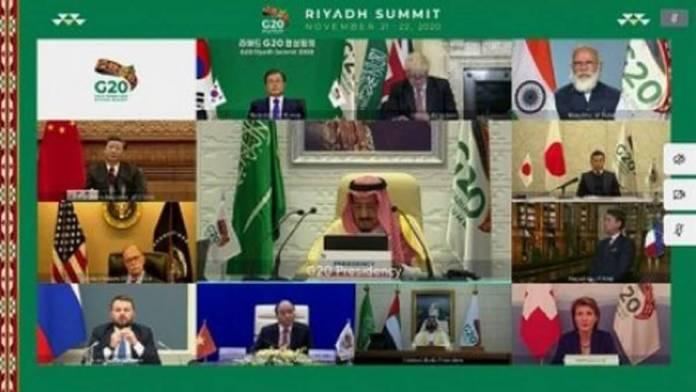 Sommet virtuel du G20 à Riyad des promesses virtuelles1