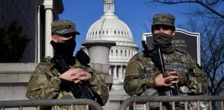 États-Unis Washington en état de siège à six jours de l'investiture de Joe Biden