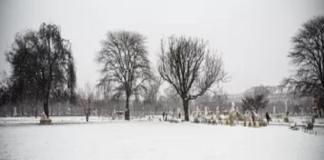 Une vague de froid et de neige inhabituelle en France