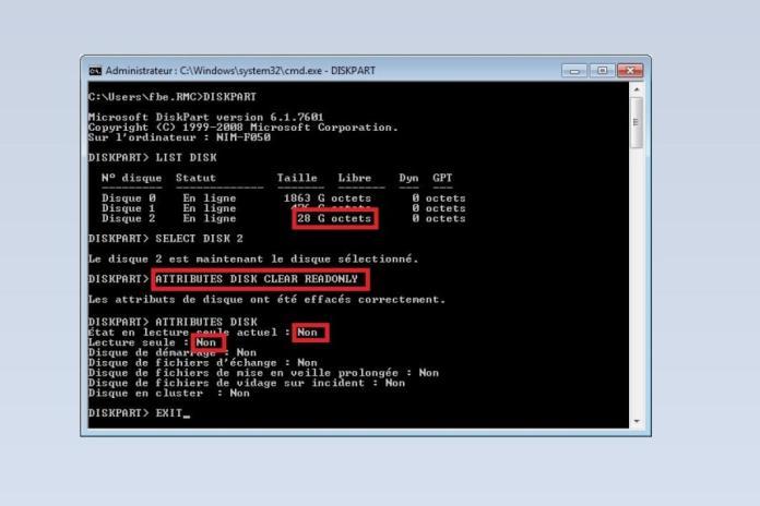 Utilitaire Diskpart de Windows - Utilitaire Diskpart de Windows