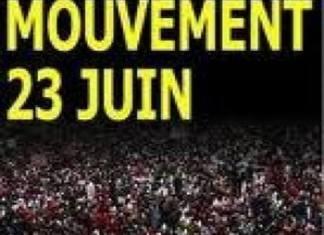 23m www.kafunel.com Manifestation M23 patriotique à la Place de l'Obélisque Le préfet de Dakar annule la marche