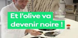 4 étapes de fabrication des fausses olives noires par des industriels (documentaire)