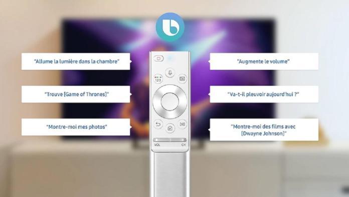 Piloter sa smart TV à la voix www.kafunel.com bixby-samsung