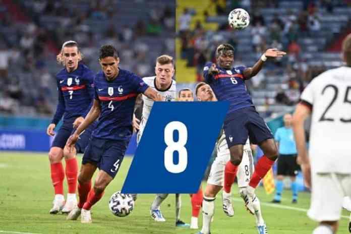 Raphaël Varane et Paul Pogba ont mené les Bleus vers la victoire