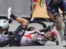 Tour de France www.kafunel.com Fracture de la clavicule et abandon pour Caleb Ewan après sa chute