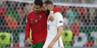 ronaldo-benzema-france-portugal-euro-2020 www.kafunel.com Benzema révèle son échange avec Cristiano Ronaldo