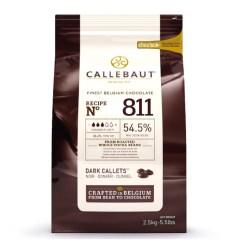 Callebaut mørk chokolade - 2,5 kg
