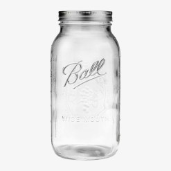 Ball Mason jars Half Gallon Wide