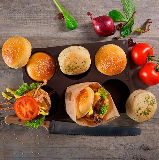 Lurch bageform burger
