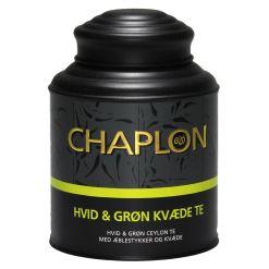Chaplon Grøn og Hvid Kvæde Te Dåse - 160 gram
