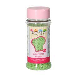 Funcakes Sukkerkugler Grøn - Krymmel - 80g