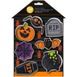 Halloween Haunted House udstikkersæt 7 dele - Wilton