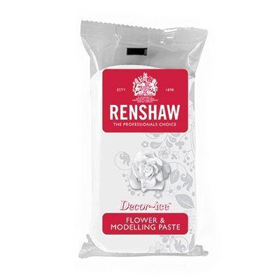 Renshaw Flower & Modelling Paste, Hvid – 250g