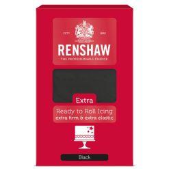Renshaw Fondant Extra, Sort – 1kg