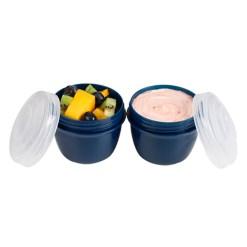 Sistema Yoghurt bæger renew 2 stk. - Blå