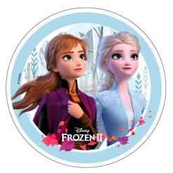 Frozen 2 Sukkerprint, 21 cm - 02