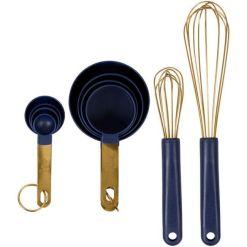 Guld køkkenredskabssæt, 10 dele - Wilton