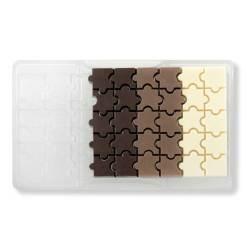 Puslespil – Polycarbonat Chokoladeform - Decora