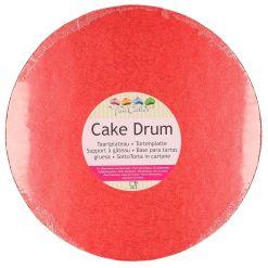 Rødt Kagefad, Ø 30,5 cm. - Funcakes