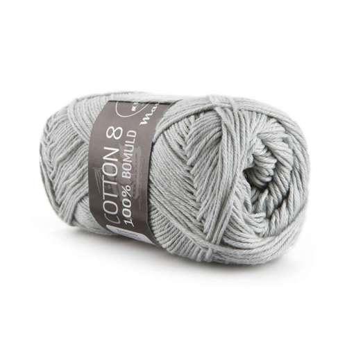 Mayflower Cotton 8/4 Garn 1440 Lysegrå