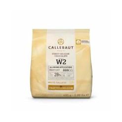 Callebaut Chokolade hvid 400g - (28%)