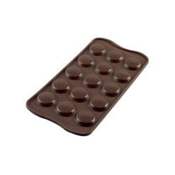 Silikone Chokoladeform Choco Macaron - Silikomart
