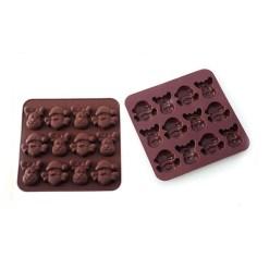 Silikone Chokoladeform Merry Xmas - Silikomart