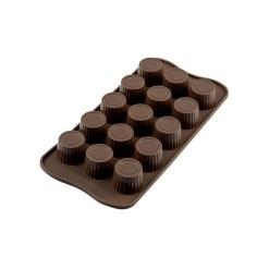 Silikone Chokoladeform Praline - Silikomart