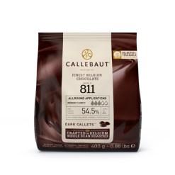 Callebaut Chokolade mørk, 400g - (54,5%)