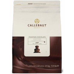 Chokolade til fontæne, Mørk Callebaut, 2,5 kg