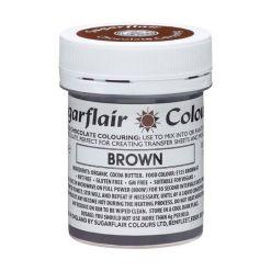 Chokoladefarve Brun 35g - Sugarflair