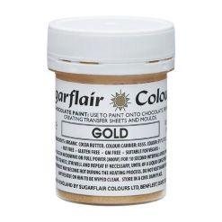 Chokoladefarve Guld 35g - Sugarflair