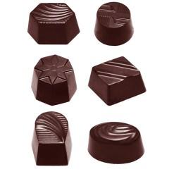Chokoladeform fyldte chokolader CW2371 - Chocolate World