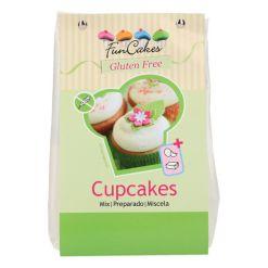 Glutenfri Cupcakes kagemix, 500g - FunCakes