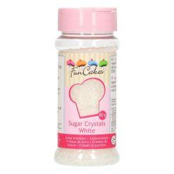 Hvide sukkerkrystaller, 80g - FunCakes