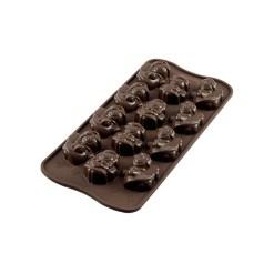 Silikone Chokoladeform Engle - Silikomart