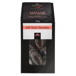 Valrhona chokolade, Feves Manjari 64% 200g