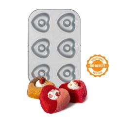 Hjerte Donut Form 6 stk. - Decora