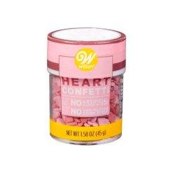 Heart Confetti Krymmel / Sprinkles 40g – Wilton