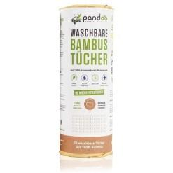 Pandoo Køkkenrulle i bambus - Genanvendelig / Vaskbar