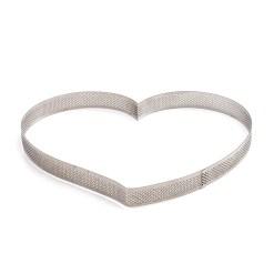 Perforeret Hjerte Tærtering Ø 24cm - Decora