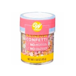 Rainbow Confetti Krymmel / Sprinkles 40g – Wilton