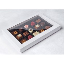 Chokoladeæske til 15 Praliner – 5 stk.