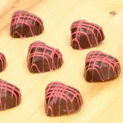 Chokoladeform Hjerte Polycarbonat - FunCakes